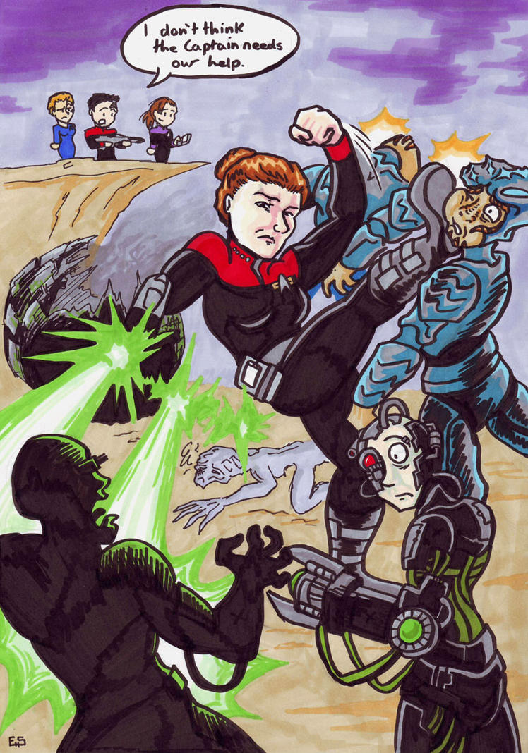 Janeway vs the universe by raax theicewarrior on deviantart for Mirror janeway