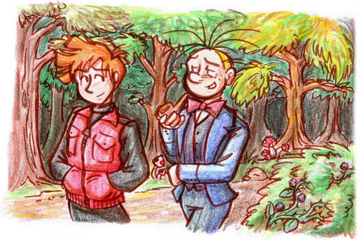 Spirou and Fantasio - Walk in the Woods