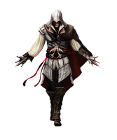Assassins Creed 2 Ezio Render by b4ttery