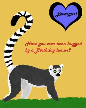 The Birthday Lemur