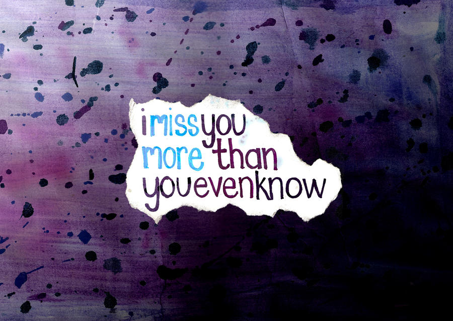 More Than You Even Know
