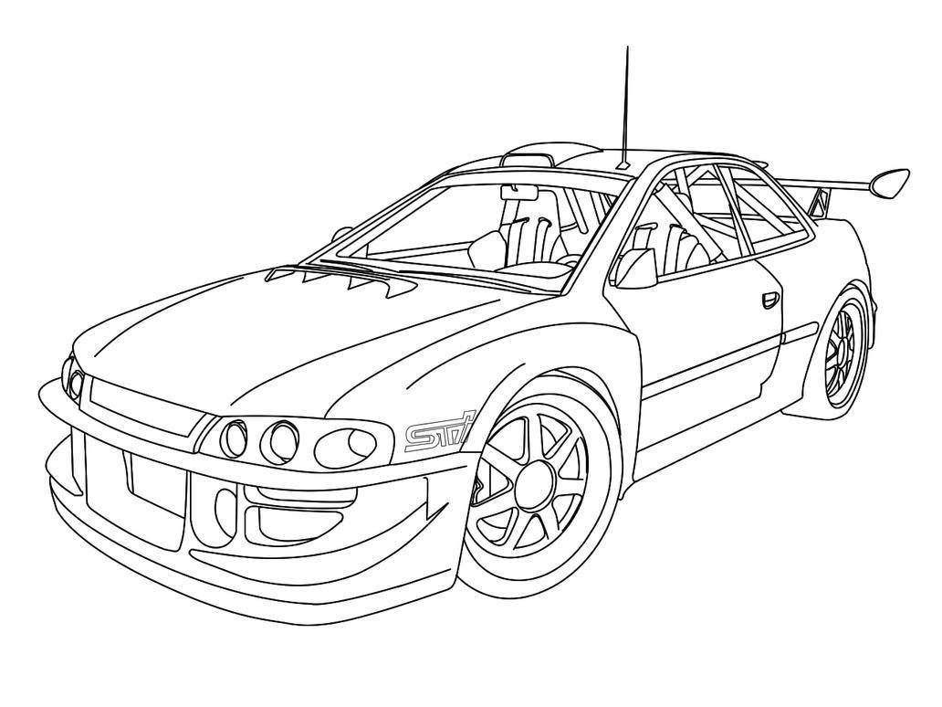 Subaru Impreza Rally Car Coloring Pages Coloring Pages Rally Car Coloring Pages