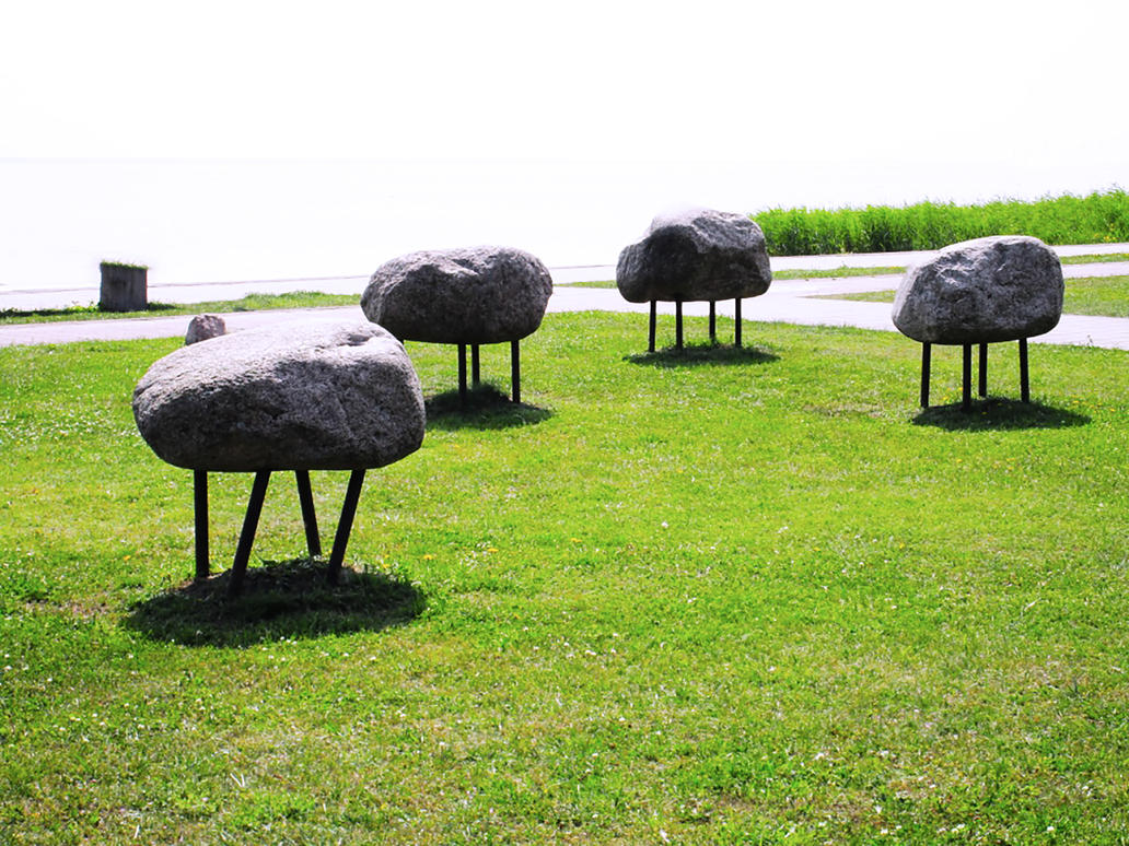 Herd of Rocks by TheNeverEndingPit