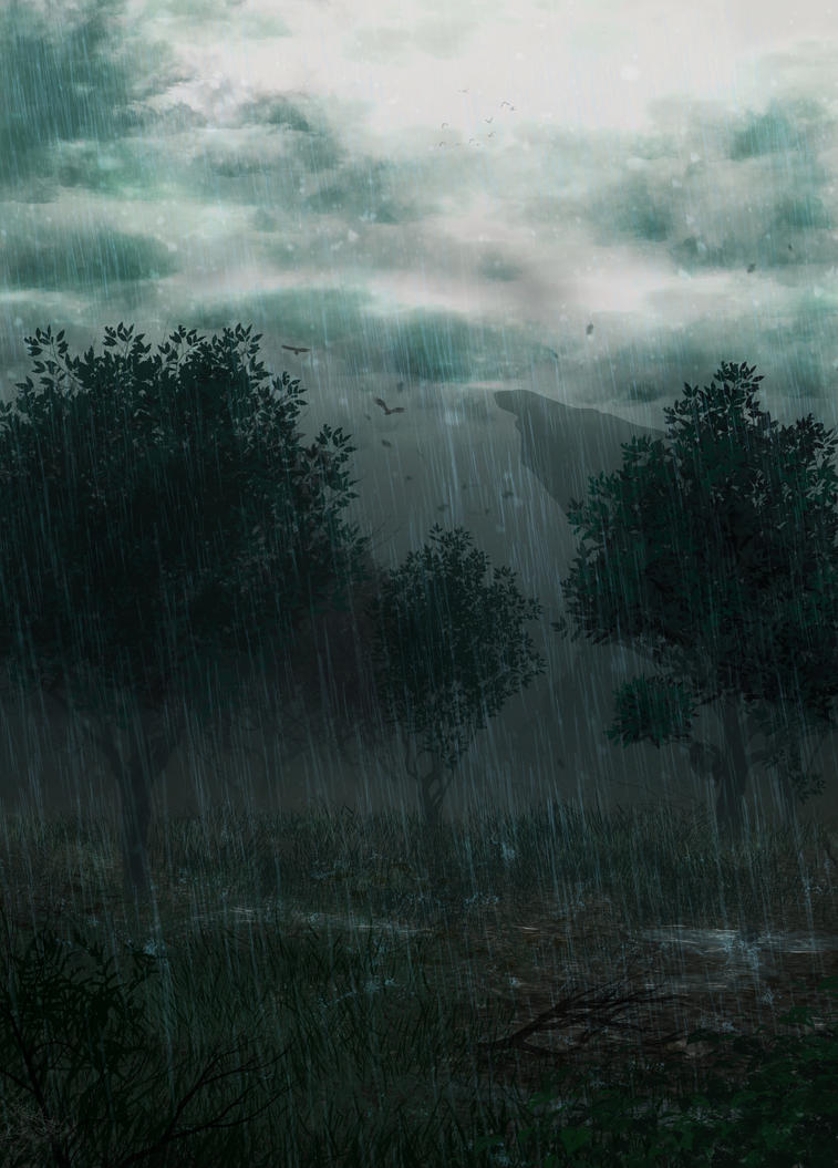 Rainy Day by Halli-well