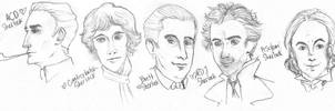 The Many Different Sherlocks by dacoolcat