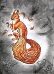 Leaf fox by ShadowOfLightt