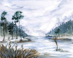 River flood by ShadowOfLightt