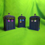 Tardis decorative lamp Doctor Who inspired by ShadowOfLightt