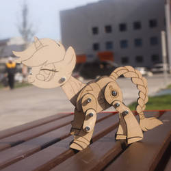 Mlp articulated figurine commission by ShadowOfLightt