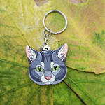 Cat keychain comission by ShadowOfLightt