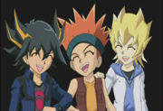 Yugioh 5ds the five amigos by YugiMotoufanatic