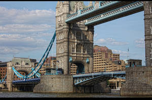 Tower Bridge Detailed by d3lf