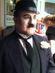 Charlie Chaplin .2 by DarkShadowChibi