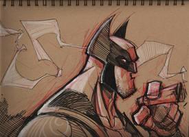 Wolverine by frogbillgo