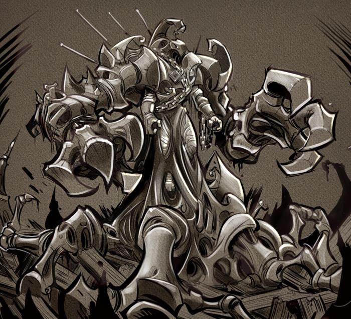 Sacred Seasons 2 Shadow Boss by frogbillgo