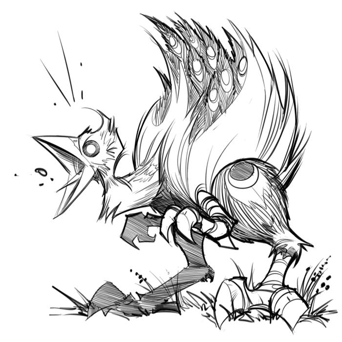 Sacred Seasons 2 Raptor Bird by frogbillgo