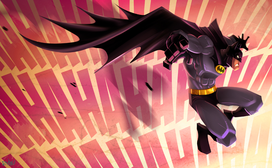 Batman by frogbillgo