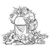 Fall Priest by frogbillgo