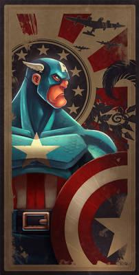 Avengers Card Captain America