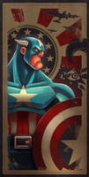 Avengers Card Captain America