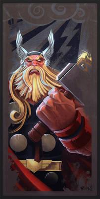 Avengers Card Thor