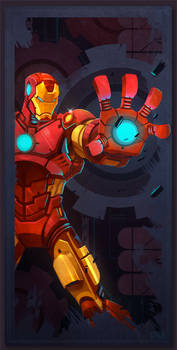 Avengers Card Iron Man