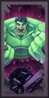 Avengers Card Hulk by frogbillgo