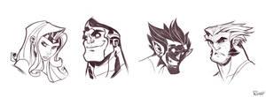X-Men Sketches