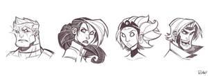 X-Men Sketches Round 2