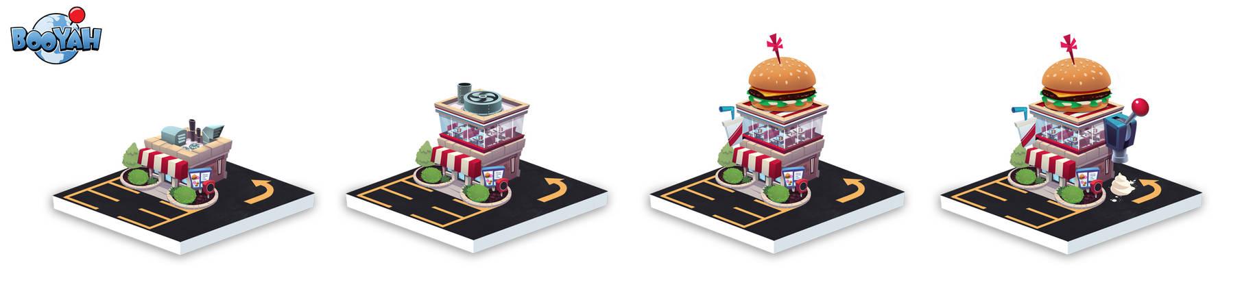 Burger Progression