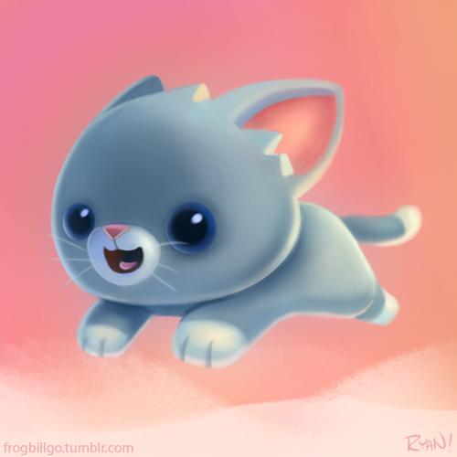 Preview Kitten by frogbillgo