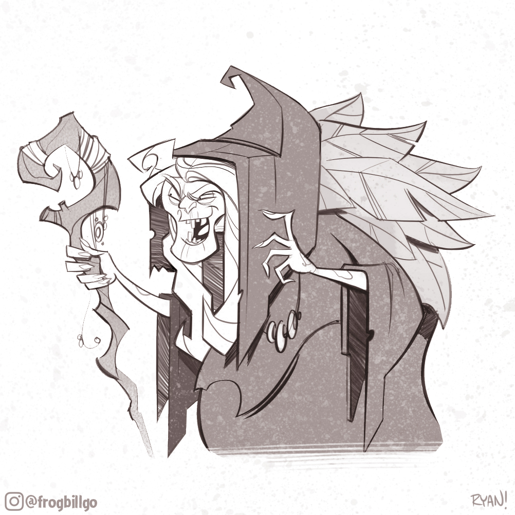 Soothsayer Sketch