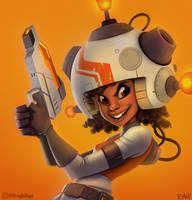 Laser Scout by frogbillgo
