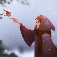 Snow by frogbillgo