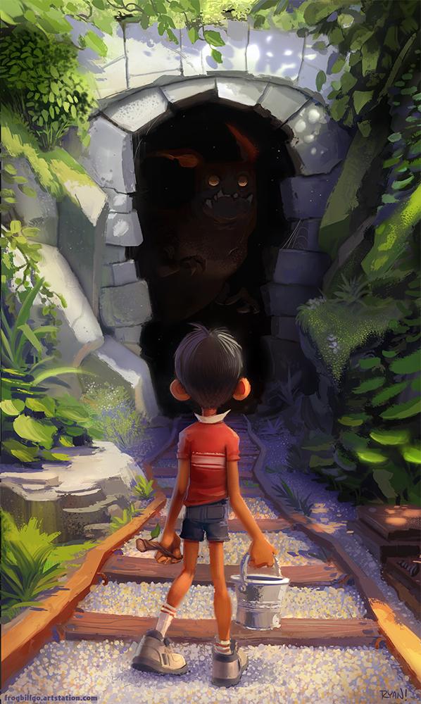 Tunnel by frogbillgo
