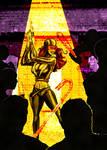 Gotham Girls 28 Cover by erkhart