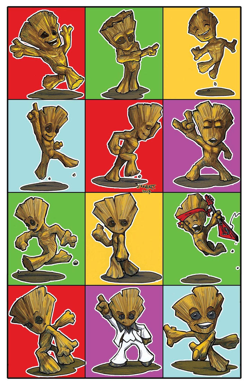 Dancing Groot by erkhart