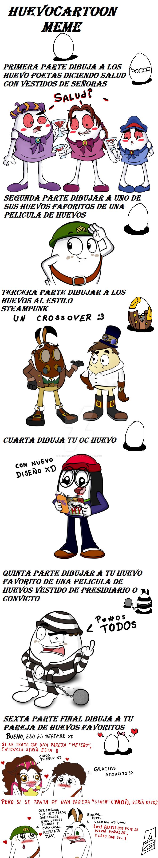 Huevocartoon Meme By Princessvanina On Deviantart