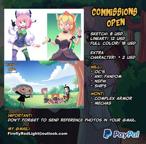 Commissions Open [UPDATED]