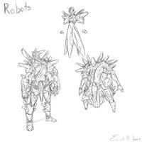 Robots sketch