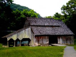 Threshing Barn by BLaDawn