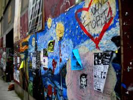 Artist's Wall by BLaDawn