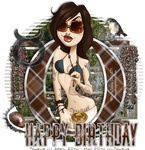 PinUp Toons - Happy Birthday Taurus