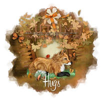 Gilroy - Autumn Hugs by CreativeDesignOutlet