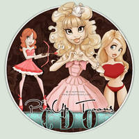 CDO Artist Of The Month February is PinUp Toons!