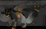 [CLOSED] Adopt auction - DEMON WOLF