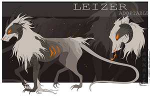[OPEN] Adopt auction - LEIZER by liaxxa