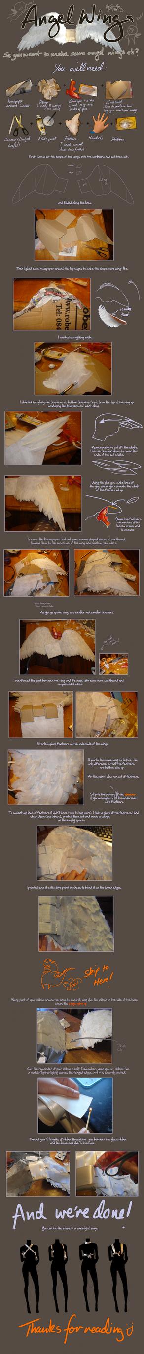Angel wings tutorial by jenny7332