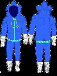 Sonic Boom Jacket (ADOPTABLE) (CLOSED) by Gemstrike