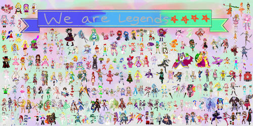 Mahou Smash Shoujo: We Are Legends by Gemstrike